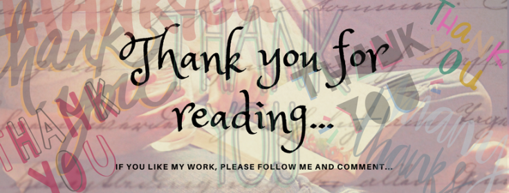 Thank you for reading...